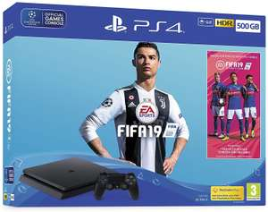 Sony PS4 Slim 500GB FIFA 19 Bundle £189.99 with free click + collect @ Hughes