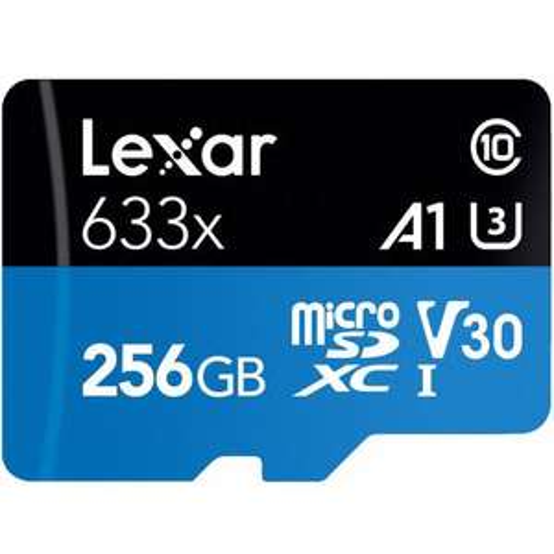 Lexar 256GB Micro SDXC U3 A1 Card £22.49 Mymemory
