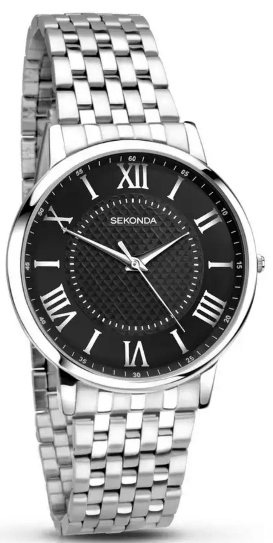 Sekonda-Silver Analogue Bracelet Watch 1332.28 -£18.90 with code delivered @ Debenhams