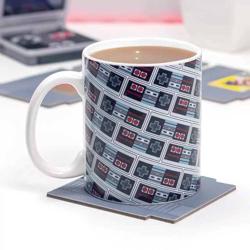 Nintendo NES Controller Mug £3.81 / 2 Pack Bundle £6.21 / NES Cartridge Coasters £5.72 delivered @ Onbuy / Paladone