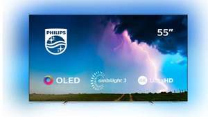 """Philips 55OLED754 (2019) OLED HDR 4K Ultra HD Android TV, 55"""",Ambilight + 5 Year Warranty -£989 @ John Lewis and Partners"""