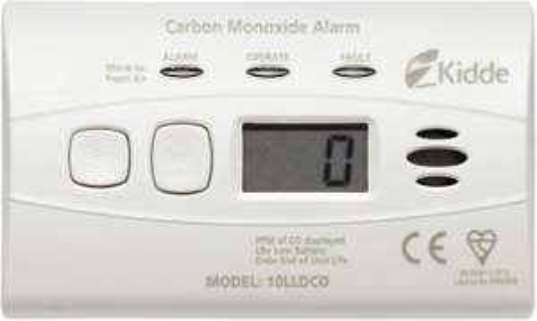 Kidde 10LLDCO Carbon Monoxide Alarm Digital Display With Sealed Battery £15.70 @ Amazon Prime / £20.19 Non Prime