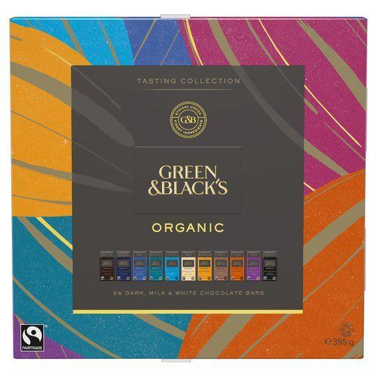 Green & Blacks Organic Tasting Collection 540g £3.37 at Waitrose & Partners Putney