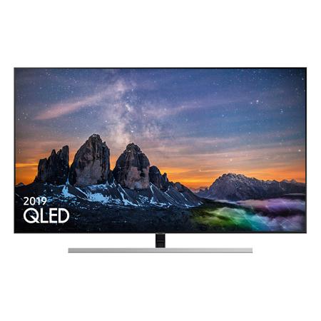 """SAMSUNG QE55Q80RATXXU 55"""" Smart 4K Ultra HD HDR QLED + SAMSUNG UE55RU7100 55"""" Smart Ultra HD 4K LED TV With £300 Cb 2nd TV £988 @ RGB Direct"""