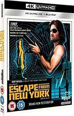 Escape from New York 4k UHD + blu ray £15.40 @ Amazon (£2.99 p&p non prime)