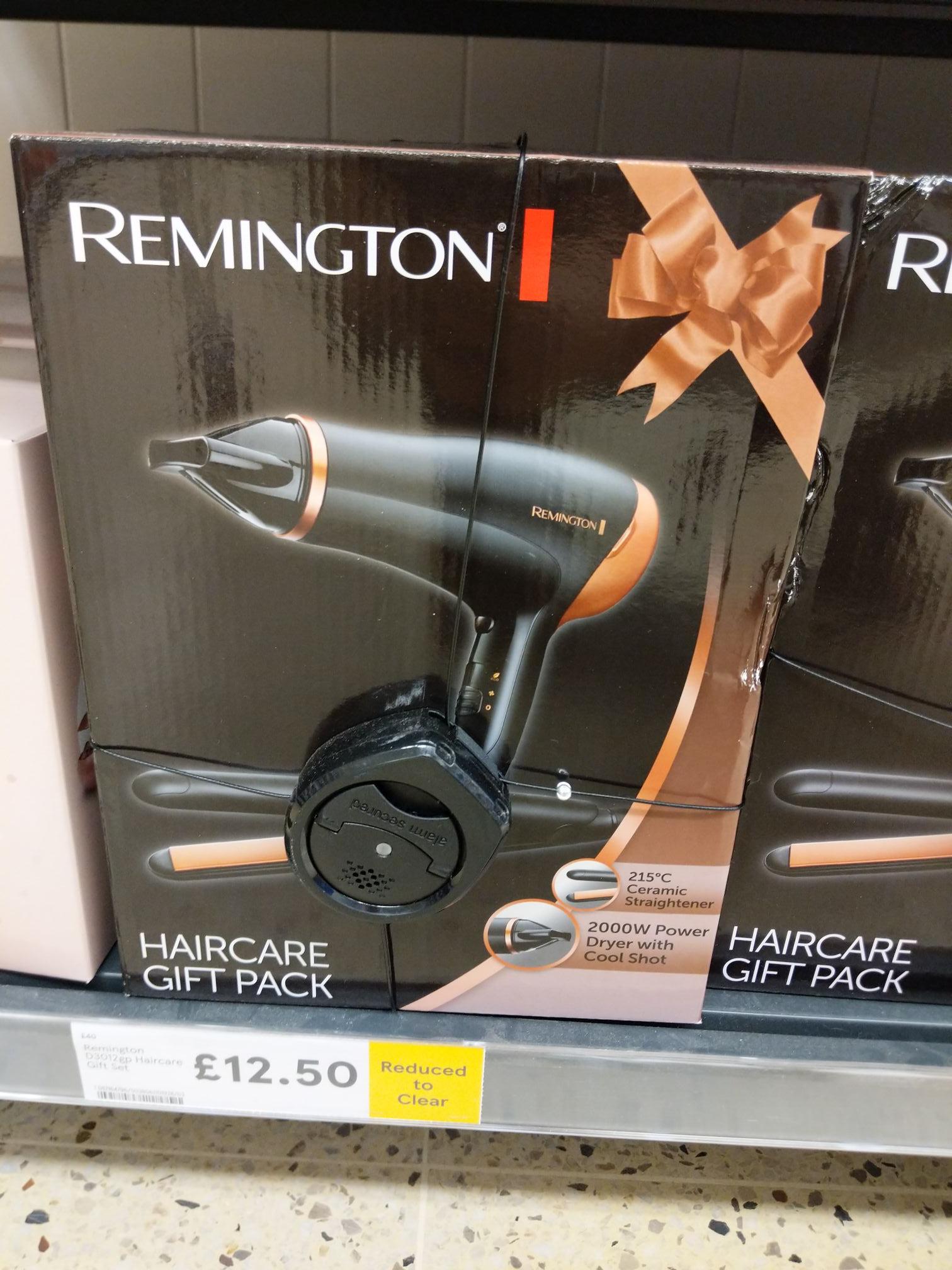 Tesco Remington Hair Care Gift pack - hairdryer and straighteners (Barnstaple Store)
