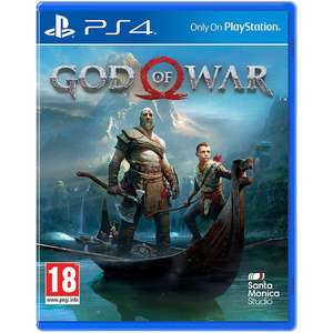 God of War (Only on PS4) £12.12 + Free Delivery @ Game.co.uk / SOLD and fulfilled by Base