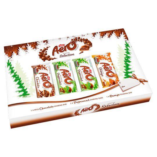 Aero Festive Chocolate Christmas Selection Box 400g £1.25 @ Tesco