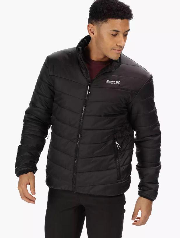 Regatta - Black 'Freezeway' Lightweight Insulated Jacket £28 at Debenhams