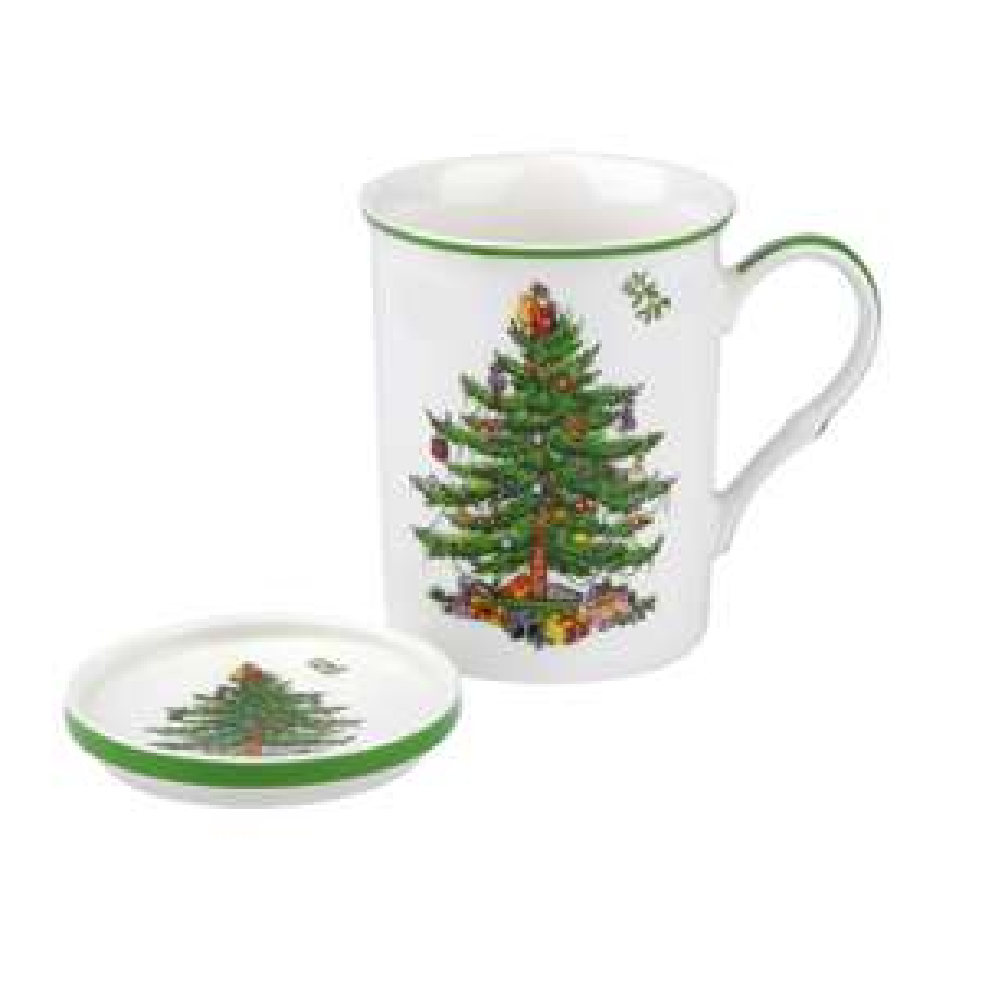 Spode Christmas Tree - Mug And Coaster Set - £4.49 / £7.44 Delivered @ ECookshop