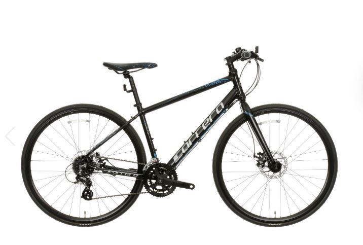 Carrera Gryphon Lightweight Disc Mens Flat Bar Road Bike £205 at Halfords
