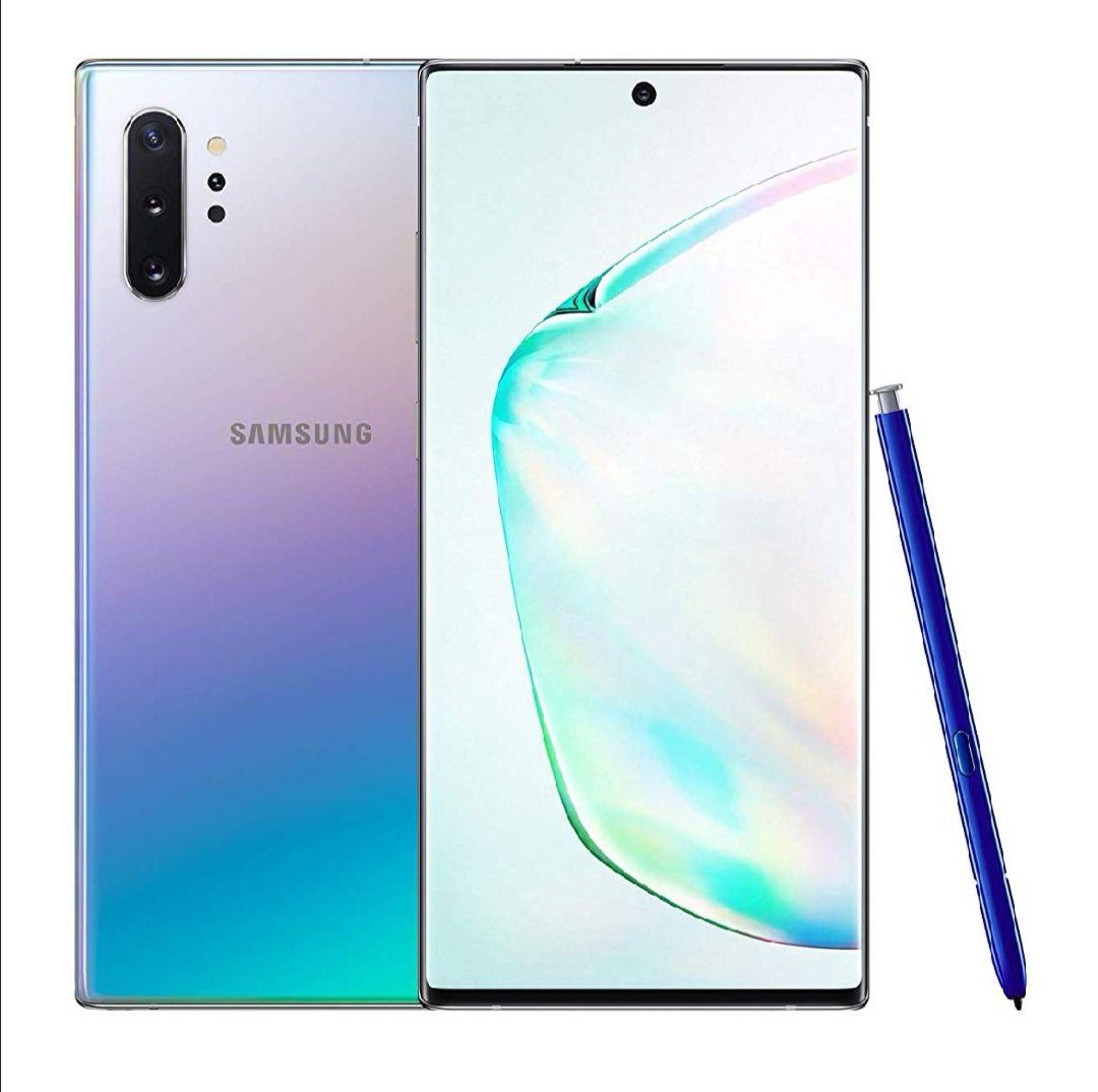 "Samsung Galaxy Note10+ 5G Single-SIM 256 GB 6.8"" Android Smartphone - Aura Glow (UK Version) £899 @ Amazon"