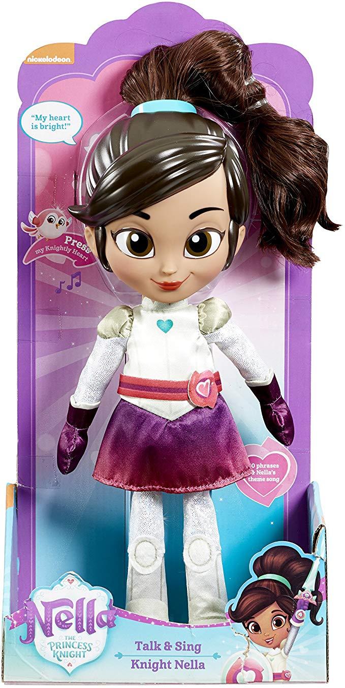 "12"" Nella The Princess Knight Talk and Sing Soft Nella Doll £5.42 @ Amazon Add-On Items"