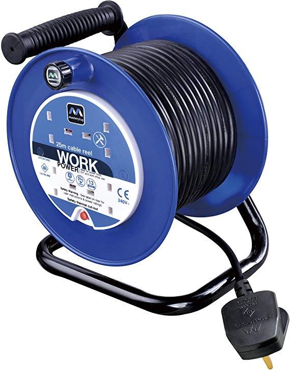 Masterplug Four Socket Extension - 25 Metres - £18.95 @ Amazon (+£4.49 Non-prime)