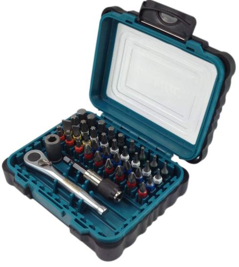 Makita P-79158 Screwdriver Bit Set (39 Pieces) - £16.95 (prime) /£21.44 (non prime) @ Amazon
