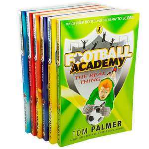 Collection of six Football Academy books by Tom Palmer for £8.99 delivered @ Books2Door