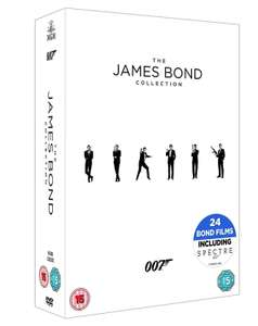 The James Bond Collection 1-24 [DVD] [2017] £25.58 at Amazon