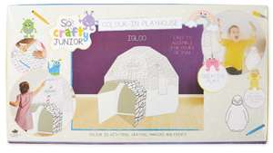 Colour in Playhouse, various designs, instore only £4.99 @ Aldi Colchester