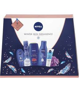 NIVEA Winter Skin Indulgence Gift Set for Her (6 Products), £8 at Amazon (+£4.49 non prime)