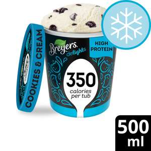 Breyers Ice Cream (Various Flavours) Only 89p @ Heron Foods.