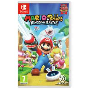 Mario + Rabbids Kingdom Battle- Nintendo Switch- £16.99 at Argos (available to reserve)
