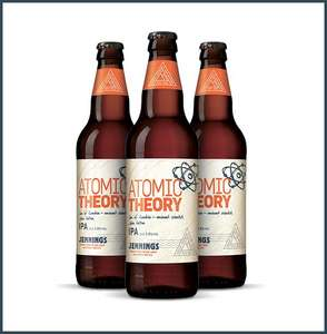 Jennings Atomic Theory IPA and Fine Line Pale Ale for £1.25 each at Home Bargains
