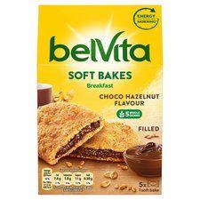 Belvita soft bake soft filled biscuits choco hazelnut/strawberry 250g £1.39@Tesco