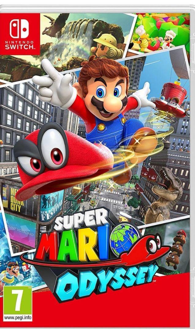 Super Mario Odyssey Switch £37 @ AO