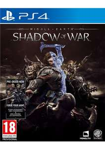 Middle Earth: Shadow of War (PS4) for £4.99 delivered @ Simply Games