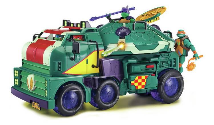 Rise of The Teenage Mutant Ninja Turtles 2 in 1 Turtle Tank £18.75 @ Argos