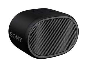 Sony SRS-XB01 Compact Portable Water Resistant Wireless Bluetooth Speaker with Extra Bass - Black £16.99 (+£4.49 Non Prime) @ Amazon