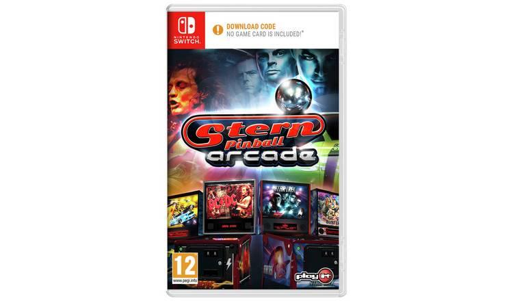 Stern pinball arcade for Nintendo Switch DLC version - £9.99 @ Argos (Free Collection)