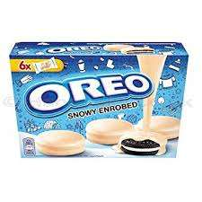 Snowy enrobed Oreos down to 81p instore at Sainsbury's in Penrith