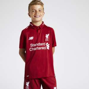 2018/19 Liverpool kids home kit - £25 @ DW Sports (+£2 Click & Collect)