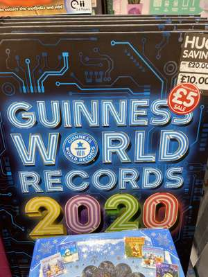 Guinness World Records 2020 £5 @ The Works in store