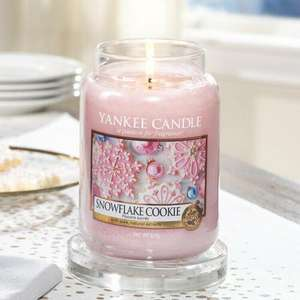 Large festive Yankee candles £9.60 with code @ Candles Direct (+£3.95 Postage or free delivery over £50)
