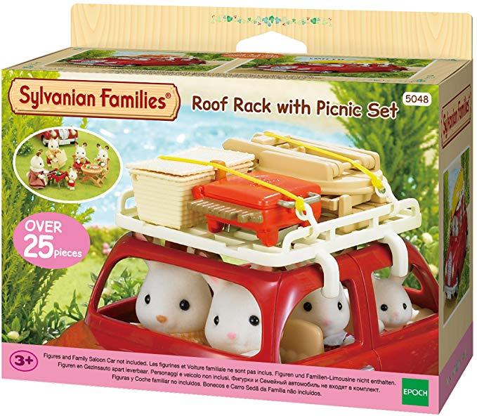 Sylvanian Families Roof Rack with Picnic Set - £7.50 @ Amazon Prime (+£4.49 non-Prime)