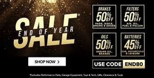 Up to 50% off Car Parts with voucher Code @ Euro Car Parts
