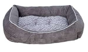 Grey Cord Square Pet Bed - Medium £12.49 at Argos (free click and collect)