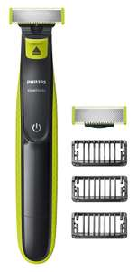 Philips OneBlade Hybrid Stubble Trimmer and Shaver with 3 x Lengths & One Extra Blade - £29.99 (or £26.99 with Student Prime) @ Amazon UK