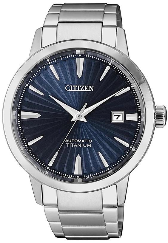 Citizen NJ2180-89L Super Titanium, Sapphire Crystal, Miyota 8210, 40mm, Blue Dial, 50M WR, £192 With Code @ Creation Watches