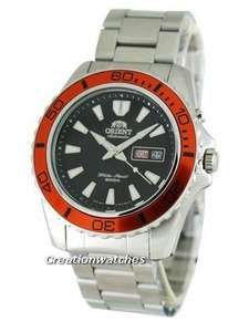 Orient Mako Automatic Divers Watch EM75004B Orange dial 200m £102 delivered using code @ Creation Watches