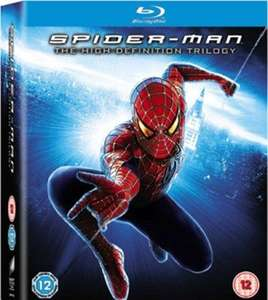 Spider-Man Trilogy Blu-ray (used) £3.99 delivered @ Music magpie