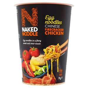 Naked Noodle & Naked Rice (Various Flavours) 60p @ Tesco