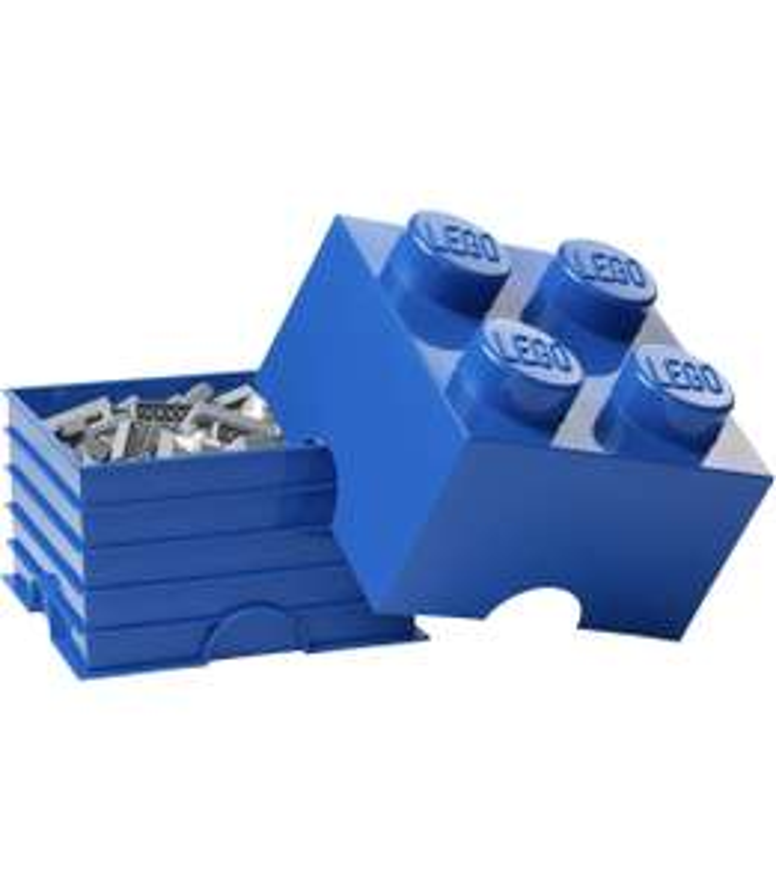 LEGO Brick 4 Knobs Stackable Storage Box, Blue, 5.7 Litre £8.99 Prime / +£4.49 non Prime @ Amazon