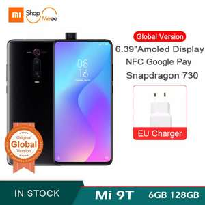 Xiaomi Mi 9T Redmi K20 64GB Global Version Smartphone Snapdragon 730 48MP - £219.67 @ AliExpress Xiaomi Shopmeee Authorized Store