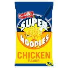 Bachelors super noodles chicken/All variants 40p @ Tesco