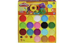 Play-Doh Super Colour Kit with tools £11 each or 2 for £15 @ Argos (Free Click & Collect)
