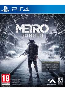 Metro Exodus + Bonus DLC and Spartan Survival Guide (PS4) - £11.99 delivered @ Simply Games
