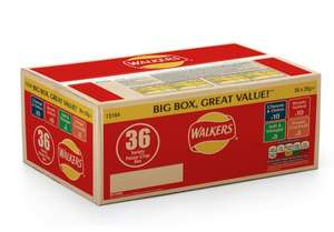 Walkers Variety 36 Pack Reduced to Clear £2.50 Tesco